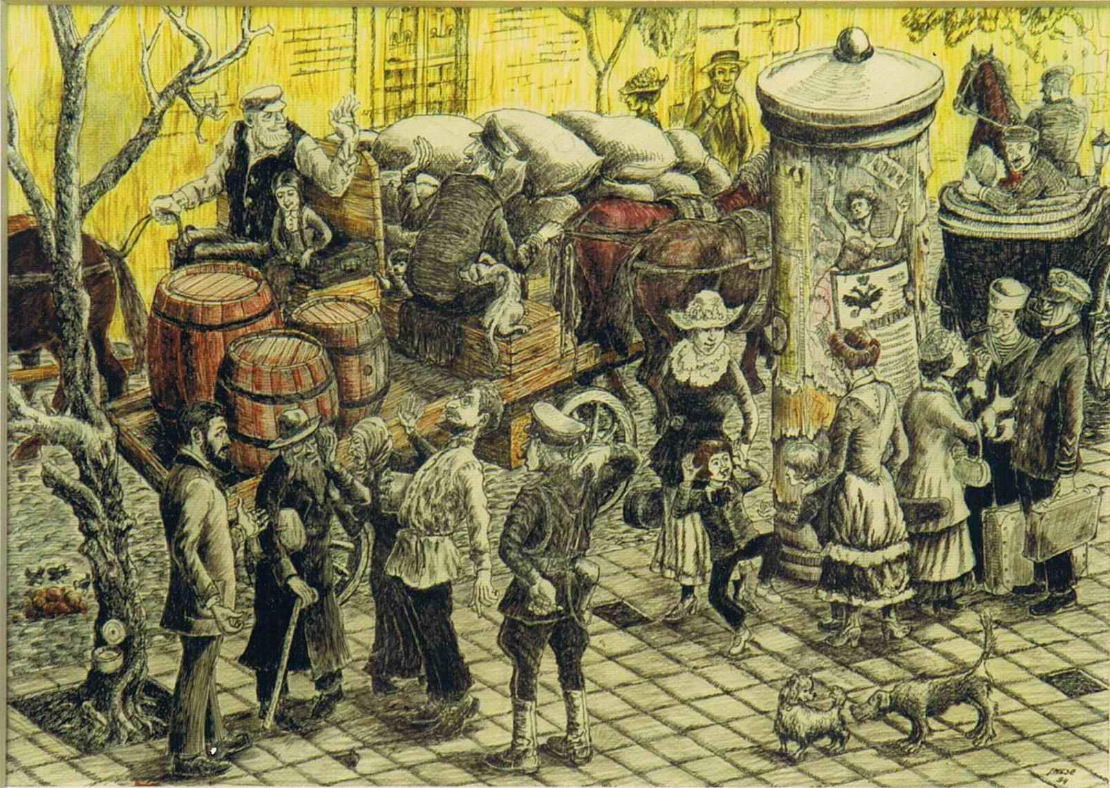 Марк Шехтман: Картины с комментариями