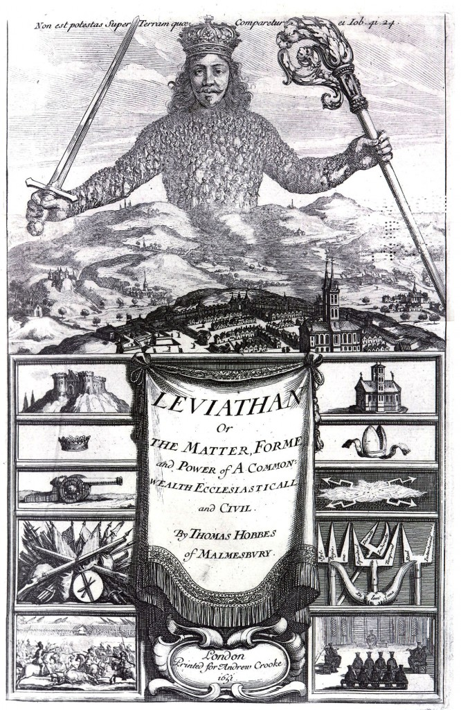 a discussion of the mans identity in the society as depicted in leviathan by thomas hobbes