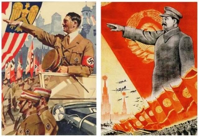 Виктор Вольский: Одного поля ягоды, или Нацизм и коммунизм — близнецы-братья