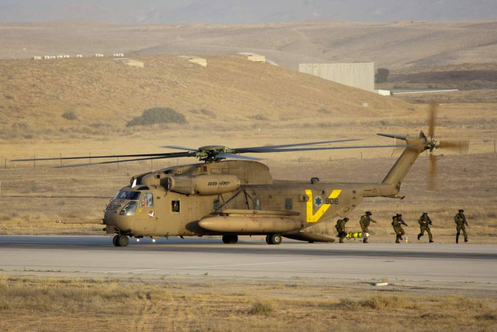 Israeli Air Force CH-53 Sea-Stallion Yasur (Petrel) 2025 version