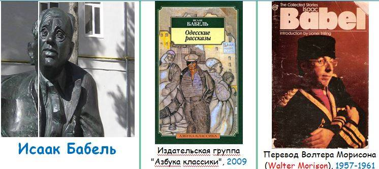 Михаил Чабан: Перечитывая Бабеля (в оригинале и в переводах). Король