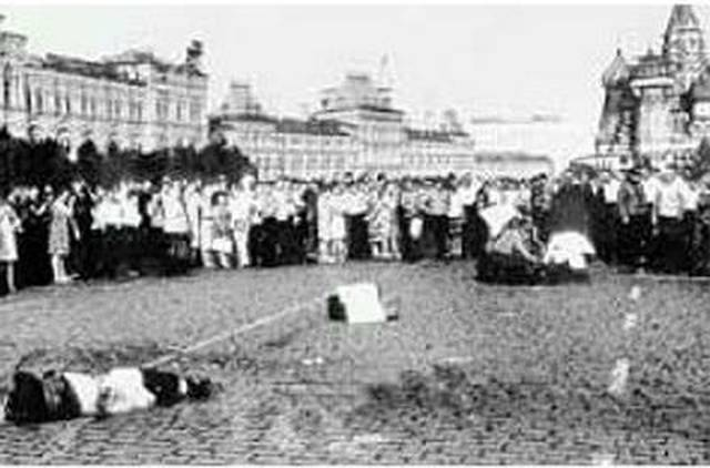 Яков Бар-Това: Красная площадь