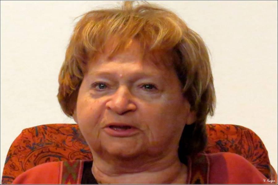 Виктор Каган: Галине Гампер