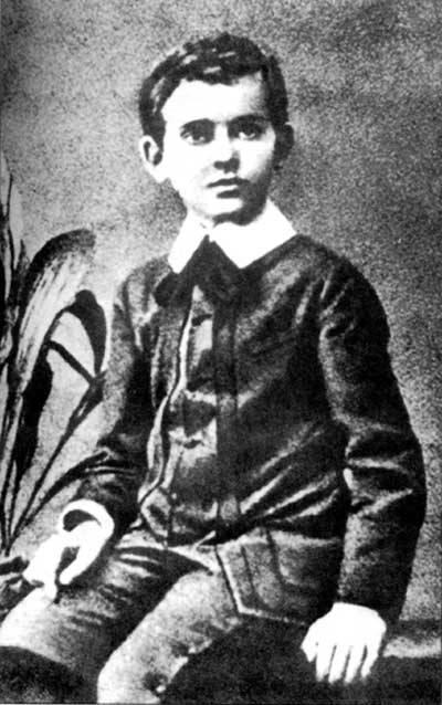Генрик Гольдшмидт в детстве