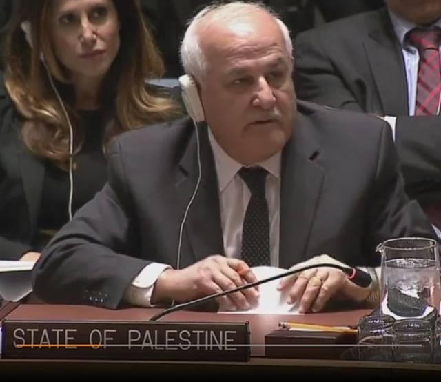 Жестокая словестная перепалка между представителями Израиля и Палестины. Источник: The World