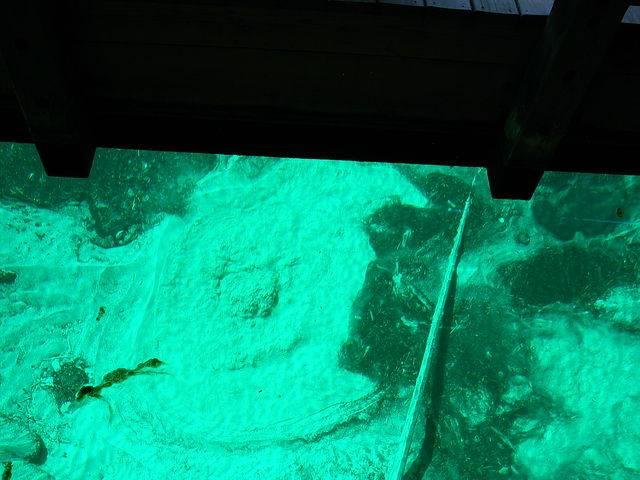Palms Book State Park. Бурун на дне. Глубина 13 метров