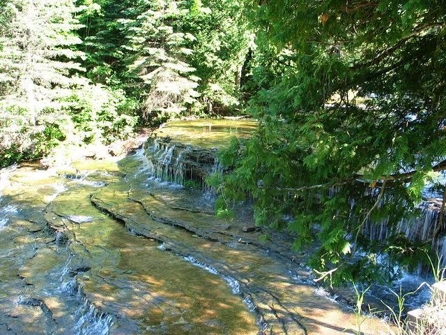 Водопад Autrain
