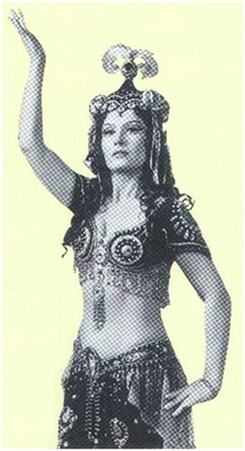 Марта Костюк в роли Шамаханской Царицы
