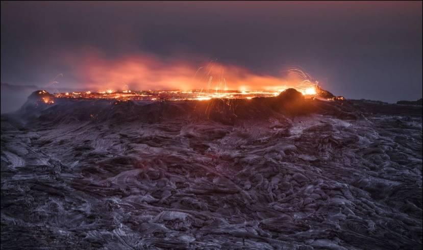 Вулкан Эрта Але. Северный кратер
