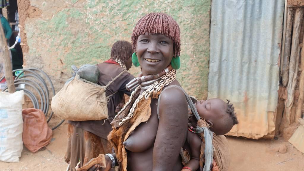 Женщина племени хамар