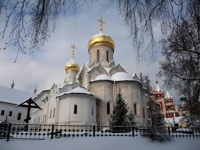 Храм Рождества Богородицы. Здесь покоятся мощи Саввы