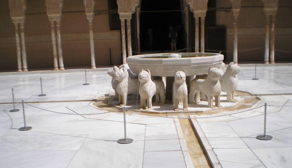 Альгамбра, Фонтан львов