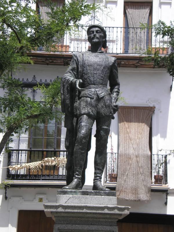 Дон Жуан на площади Рефинадорес