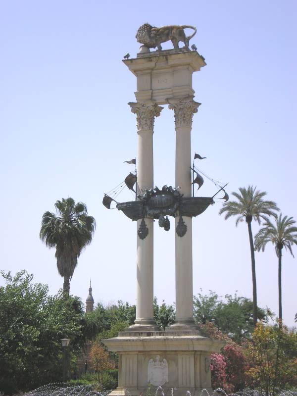 Монумент, прославляющий Колумба