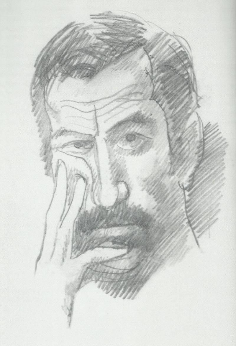 З. Смехов. Автопортрет