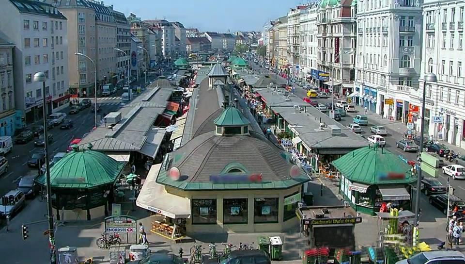 Рынок Naschmarkt