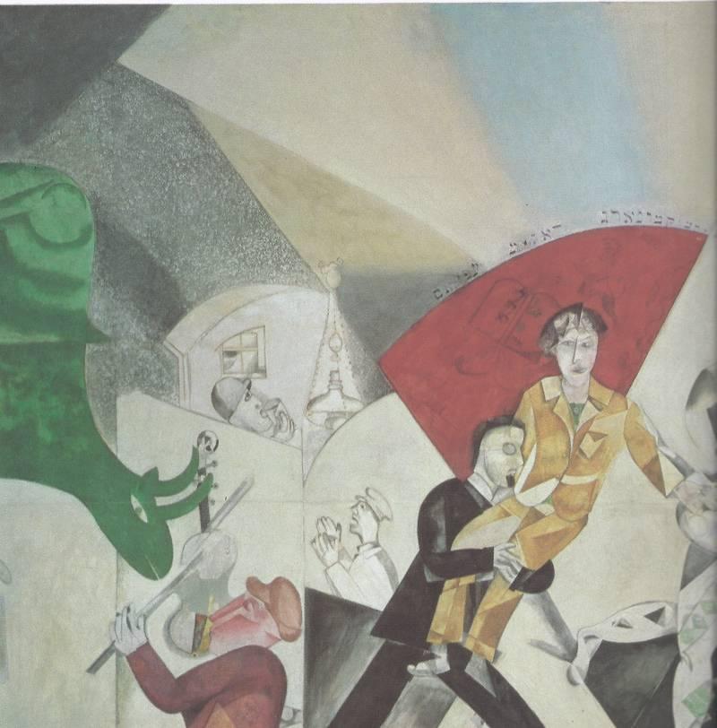 М.Шагал «Введение в Еврейский Театр» 1920, часть первая