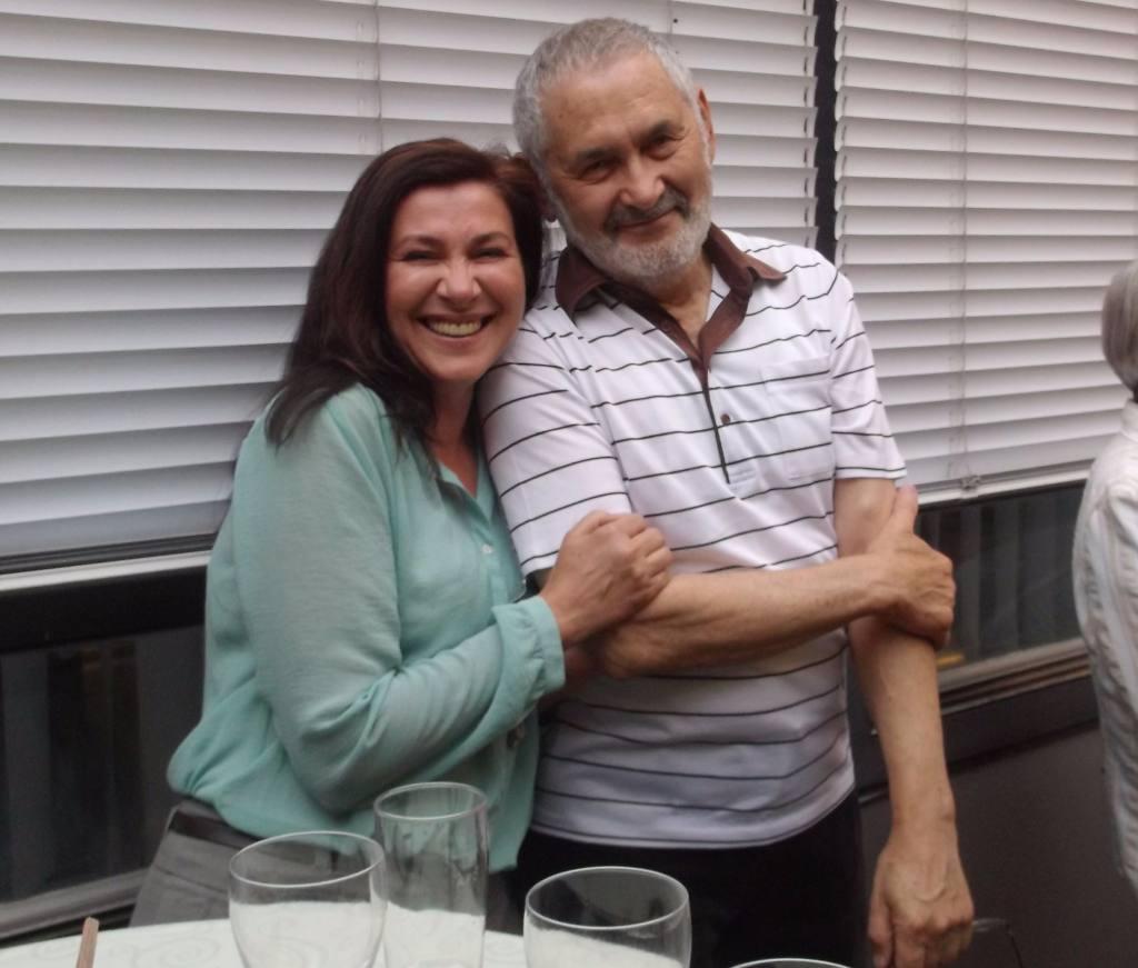 Марк Туревский с Татьяной Кулаковской