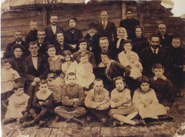 Сделан снимок в 1918 году в Балте