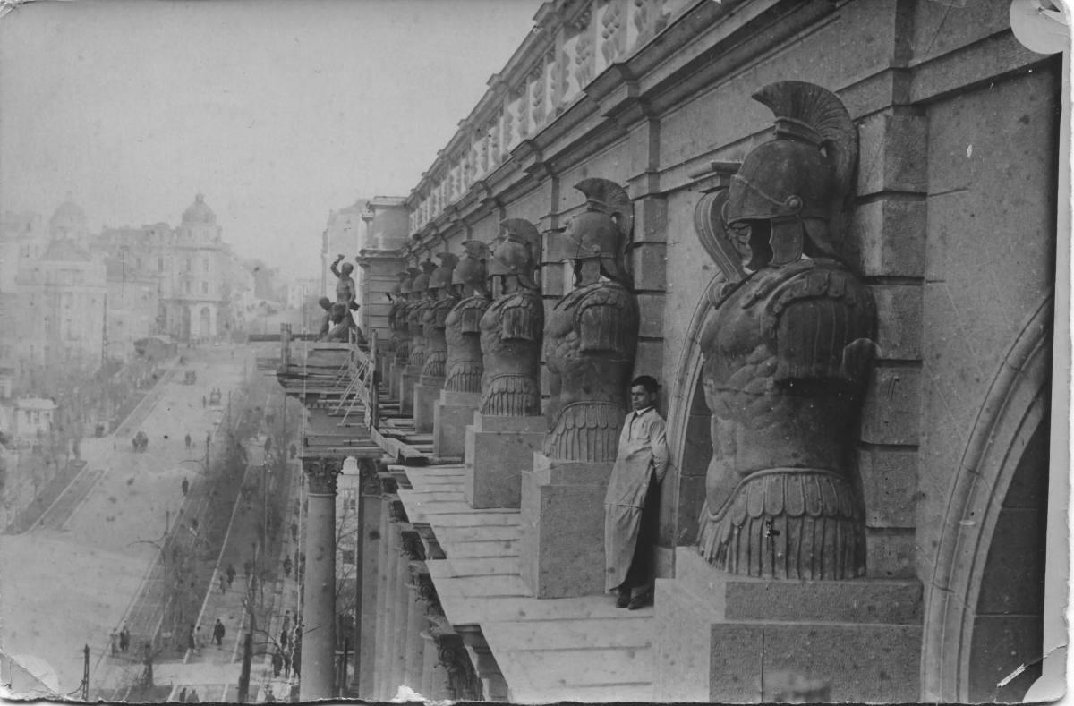 С.П. Алисов — скульптуры