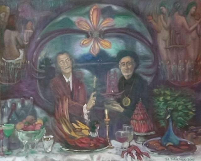 Oбед с Сальвадором Дали, основателeм Ордена