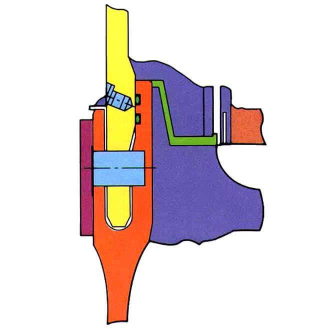 Рис.2. Схема полевого соединения