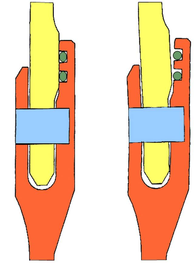 Рис. 3. Ротация стыка (справа)