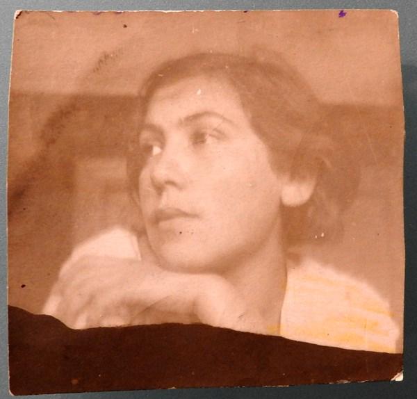 Мама в августе 1938 г