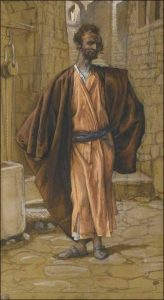 Иуда Искариот. Джеймс Жак Тисо, 1836 г., Франция