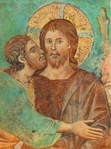 Поцелуй Иуды, Чимабуэ, конец XIII века, Пиза