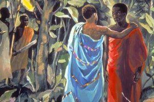 Предательство Иуды. Африканское изображение