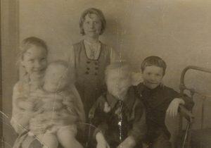 1951 год. Прощай, Ленинград! Света, Наташа, Оля, Миша, Саша