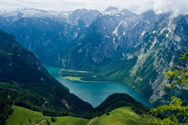 Самое чистое, самое красивое озеро Баварии