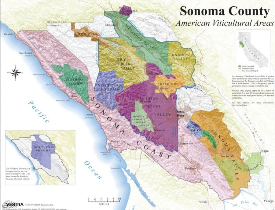 Долина Сономы