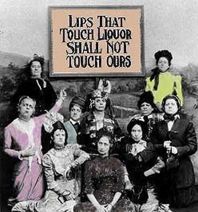 Надпись на плакате американских суфражисток