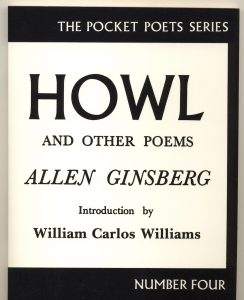 Книга А. Гинзберга, изданная Ферлингетти