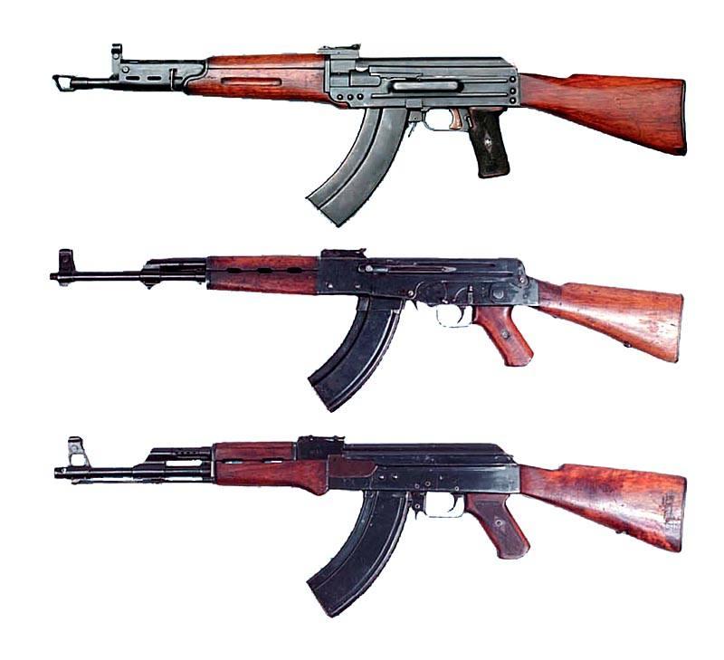 ТКБ-415, AK-46, AK-47