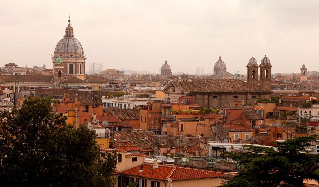 Тёплые краски Рима