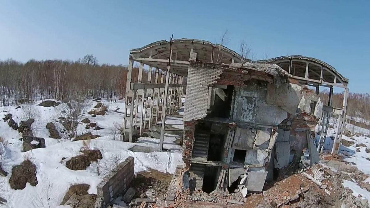 Посёлок Эльбан, апрель 2015. В 1975-м выглядел получше