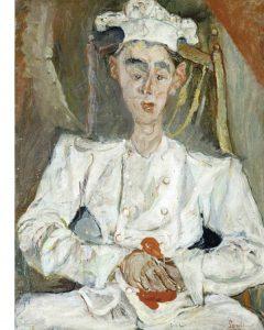 Кондитер с красным платком. 1922–23