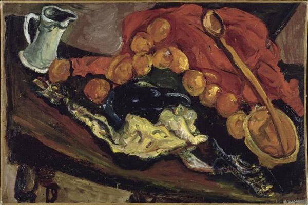 Натюрморт с индейкой. 1926