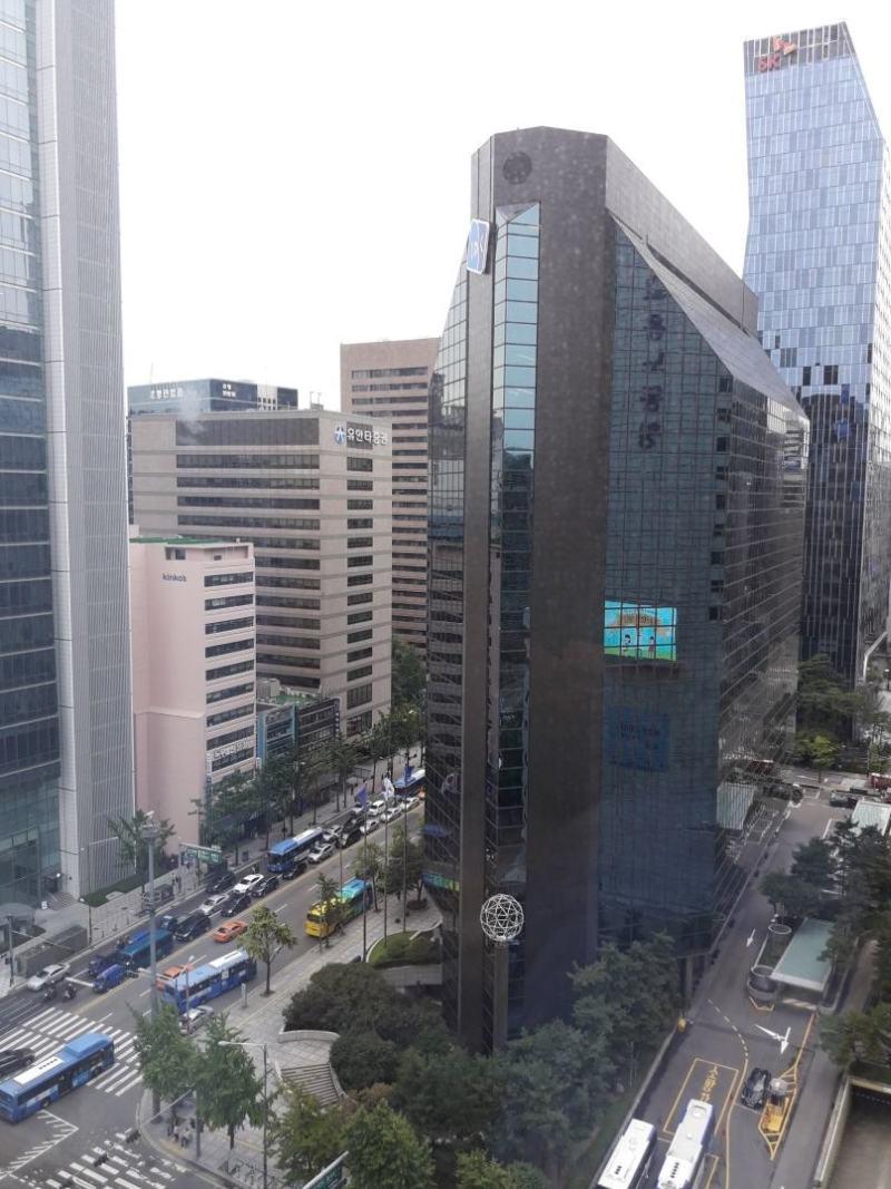 На рассвете, вид из окна 16-го этажа