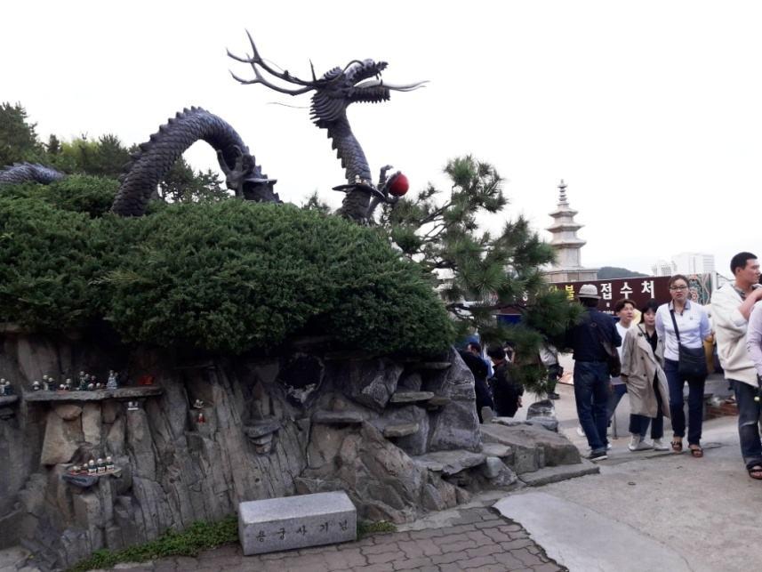 Дракон, хранитель храма