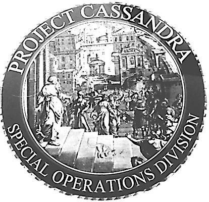 Внутренний знак DEA для Project Cassandra