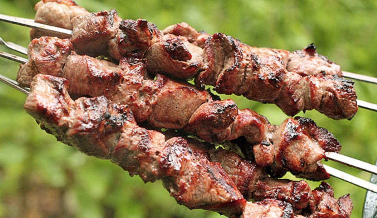 Шашлык из баранины