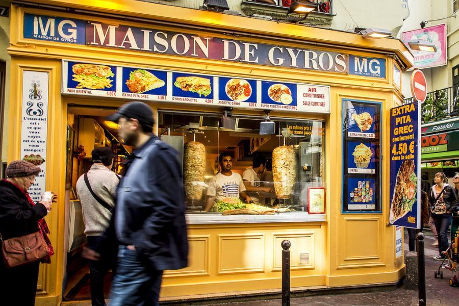 Maison De Gyros (Париж, Латинский квартал)