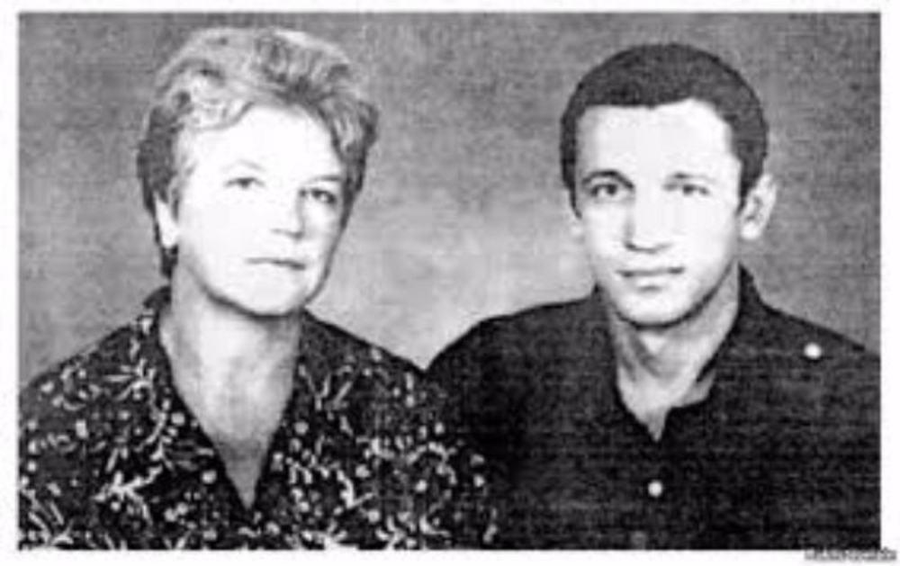 Валерий Марченко с мамой Ниной Михайловной