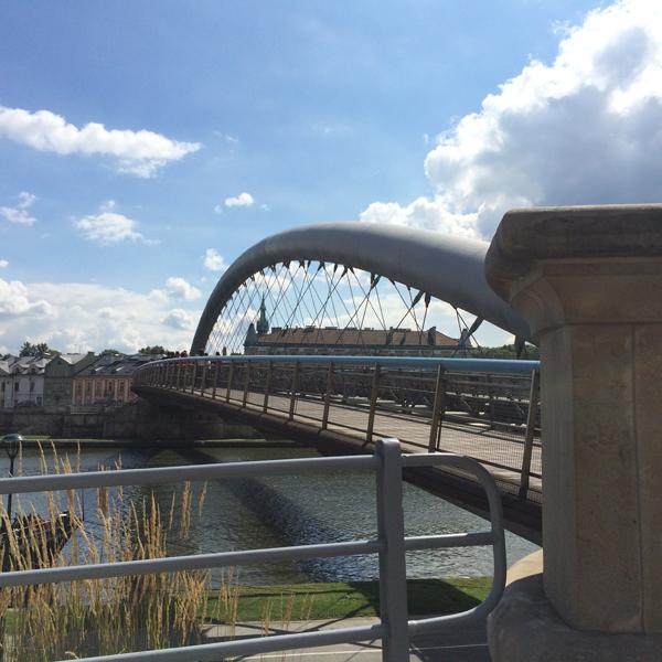 Мост через Вислу, по которому гнали евреев из Кракова в гетто
