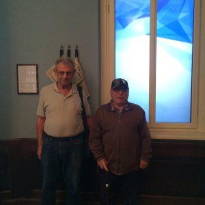 Встреча двух узников концлагерей Освенцима и Ахмачетки