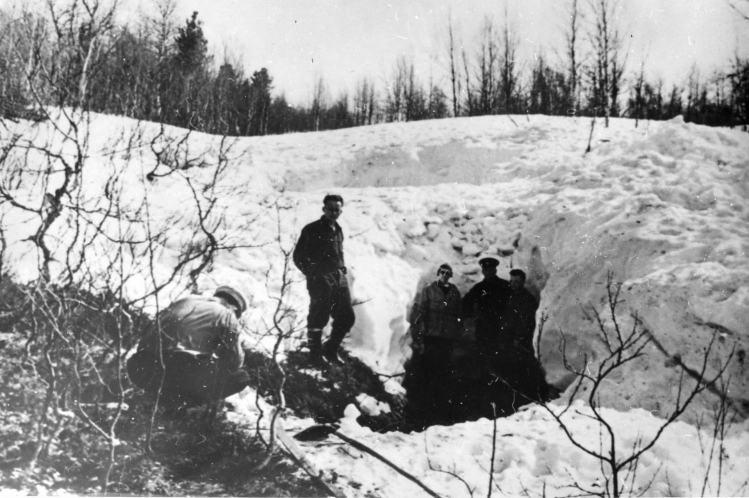 Мосто в овраге где нашли четверых студентов из группы Дятлова